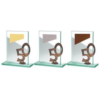 BW513 glazen standaard jubileum
