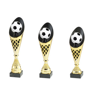 2009 Goud-zwarte beker voetbal