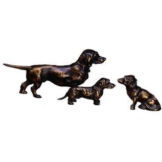 Bronzen  Teckel 60380