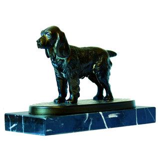 Bronzen  cocker spaniel 61940