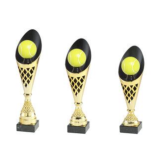 2009 Goud-zwarte beker tennis
