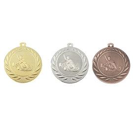 Medaille kart