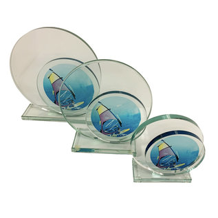 W651 Glazen standaard zeilen