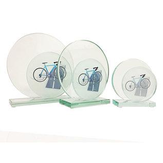W651 Glazen standaard wielrennen