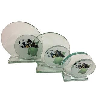 W651 Glazen standaard voetbal