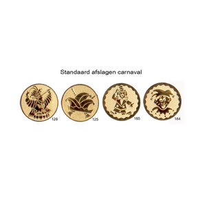 Carnaval medaille D52