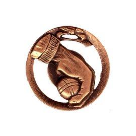 Medaille jeu de boule hand 70mm (op=op)