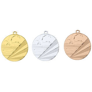 D112C Medaille zwemmen