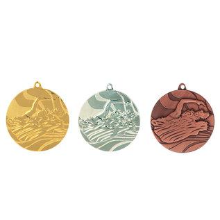 472 Medaille zwemmen