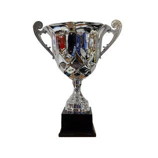 Beker met grote open cup
