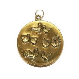 Medaille kip