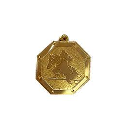 Medaille paard springen