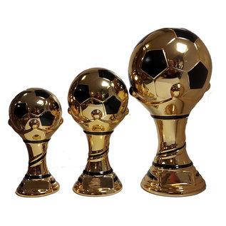 Keramieke standaard voetbal goud