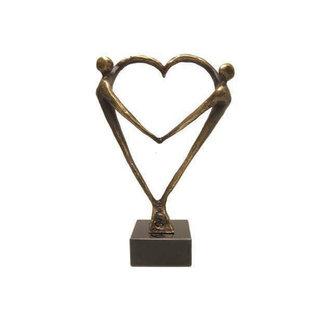"""sculptuur """"Hart voor elkaar"""""""