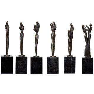 MJ0001-6  sculptuur serie vrouw