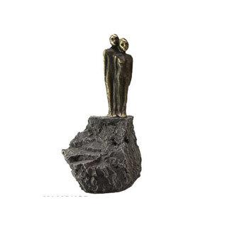 KMA540 sculptuur 'Samen naar de toekomst kijken'