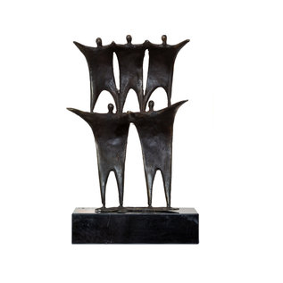 MJ0009 Sculptuur Schouder aan schouder