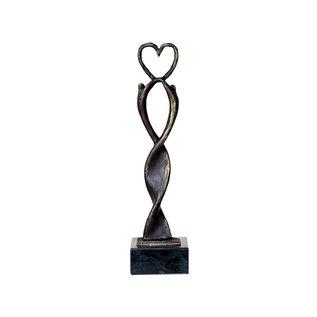 """MA. 721 sculptuur """"Het hart op de juiste plaats"""""""