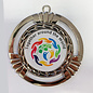 Mega medaille Around the world