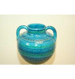 Bitossi Italian design vase with 2 ears