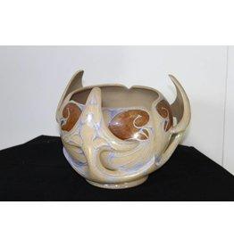 Art nouveau vase JW Mijnlieff Holland