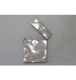 English mother-of-pearl card holder