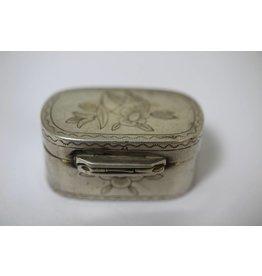 Zilveren pillendoosje Frans 19é