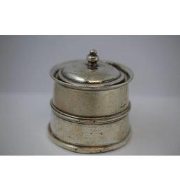 Antiek Engels Zilveren Inktpot