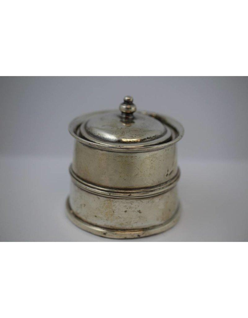 Engels Antiek Zilver.Antiek Engels Zilveren Inktpot Brocanteschuur De Boshuuze