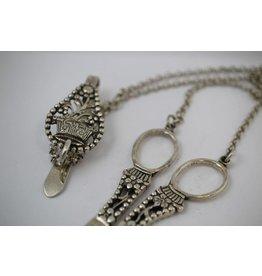 Antique Amsterdam Silver scissors with belt hook 1810