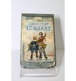 Blikken notitieboekje van Chocolat Lombart