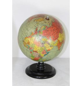 Globe globe on black bakelite base