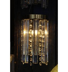 2 Wall lamps 24 kt gold-plated J.T. Calmer down