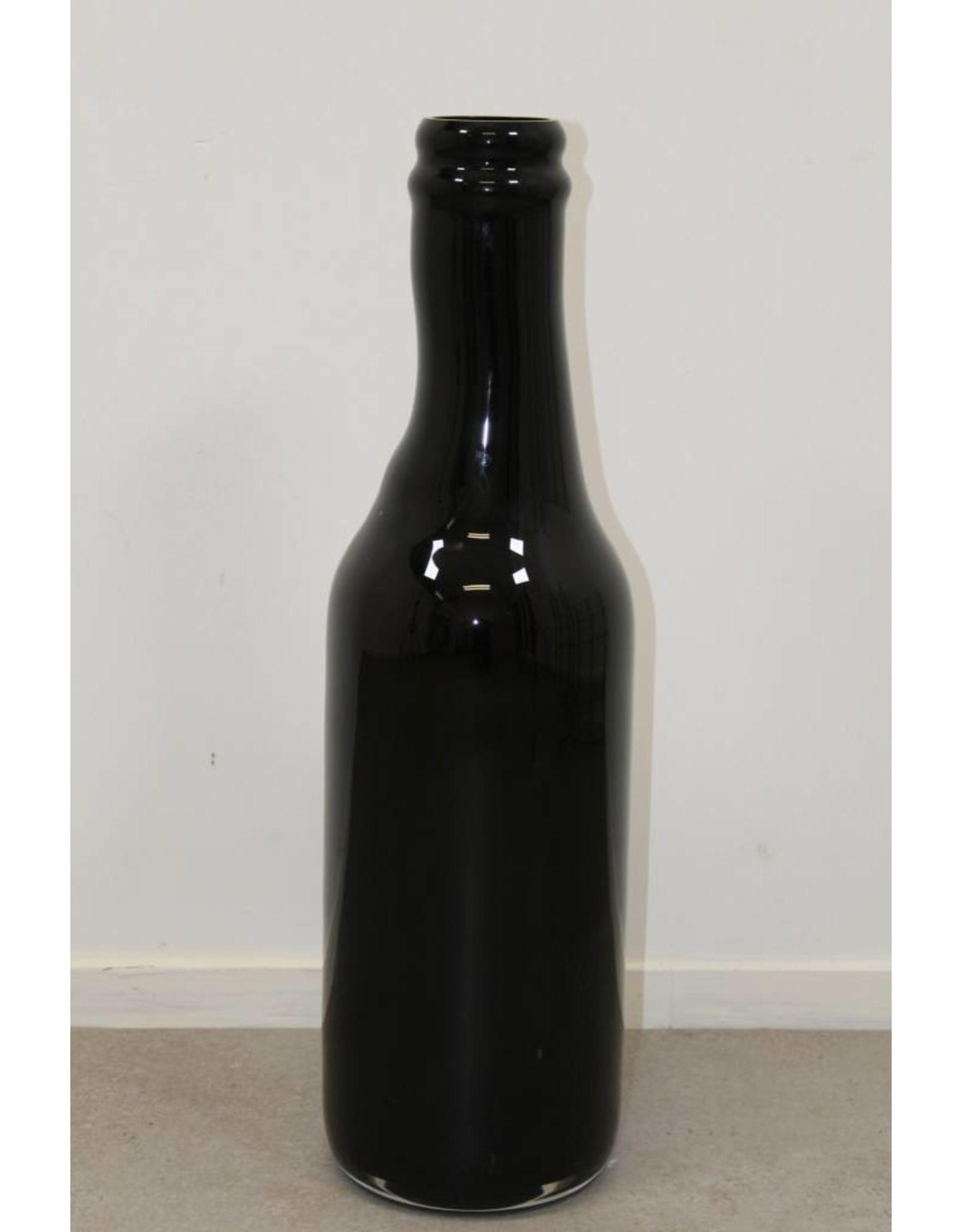 Zwarte fles Royal Leerdam A37 Unica Strabelle