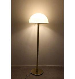 Golden Floor Lamp Van Glashütte Limburg, 1960s