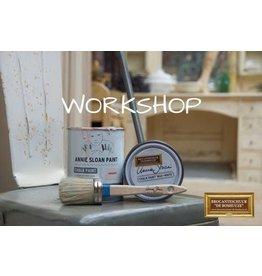 Annie Sloan Workshop Annie Sloan Verftechnieken1  Datum 6-01-2020