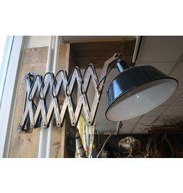 Industriële Schaarlamp muur Groot model Scharnierlamp