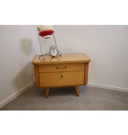 Vintage Nachtkastje klein model