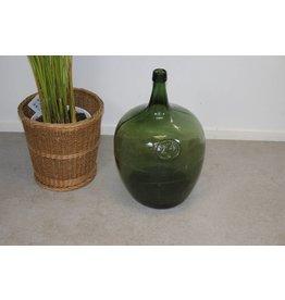 Oude Wijnfles 20 Liter Groen