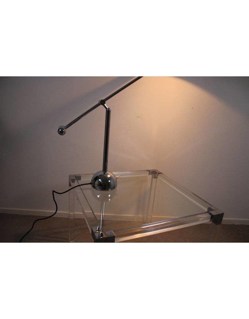 Bureaulamp metaal Hustadt Leuchten 70 er