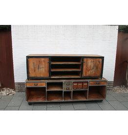 Industriele Kasten Tv meubels slaapkamer kast op maat