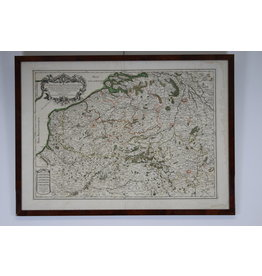 17 eeuws Franse Landkaart
