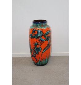 Large Floor Vase Scheurich Hannen Fight 553-50