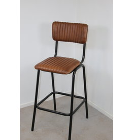 Bar Chair Barstool leather upholstered