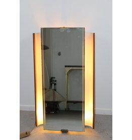 Illuminated wall mirror 50s