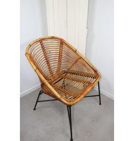 Bamboe Of Rotan Zit Stoel of teras stoel ontwerp van  Dirk van Sliedrecht