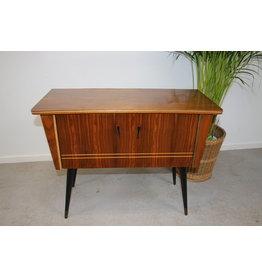 Vintage tv-meubel bijzetkastje