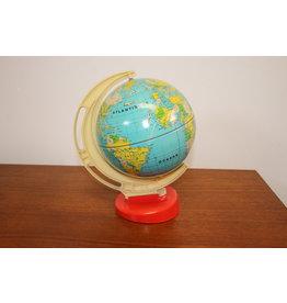 Small metal globe model