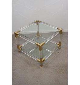 Plexiglass Coffee table Charels Hollis Jones 60 x 60 x 40