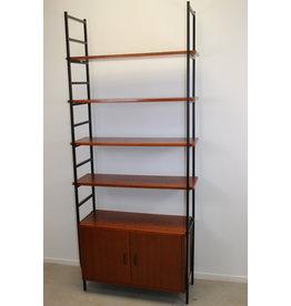 Vintage metal wall rack